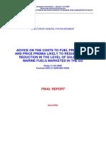 020505 Bunker Fuel Report