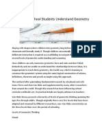 How to Help School Students Understand Geometry