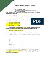 Errores en el Manual de análisis estadístico de Datos de JM Carrión
