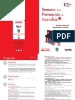 Semana de la prevención de incendios