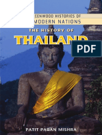 MISHRA, P.P., The History of Thailand, Edit. Greenwood, Santa Bárbara, 2010