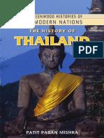 MISHRA, P.P., The History of Thailand, Edit. Greenwood, Santa Bárbara, 2010