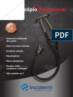 Manual Estetoscopio Profissional