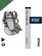 Stihl-manual de utilizare