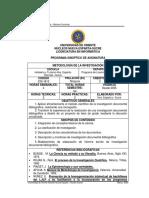 Programa Metodologia Investigacion