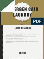 Bisnis Plan Detergen Cair