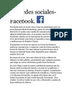 Las Redes Sociales-facebook