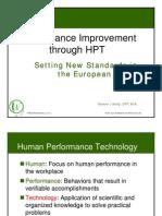 Performance Improvement Through HPT