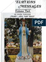 Revelations and Messages as Given Through Mary Ann Van Hoof at Necedah Wisconsin Volume II 1971 1975 for My God and My Country Inc 1978