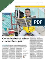 Colombia Busca Salvar El Acuerdo de Paz