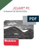 Manual de Instalacion Onduclair Pc