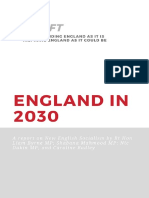England in 2030 Red Shift Report