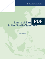 Limits of Law in the South China Sea