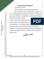 Triplett Declaration