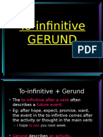 GERUND3 and to-Infinitive(3)