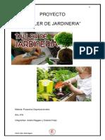 """""""Taller de Jardinería"""" con correcciones"""