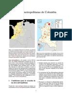 Áreas Metropolitanas de Colombia