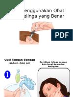 Cara Menggunakan Obat Tetes Telinga Yang Benar