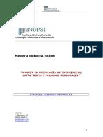 Ipsi.master Psicologia de Emergencias.tema Viii.cuerpo y Lesiones