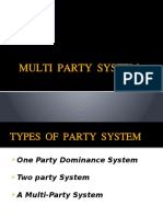 Multi Party System Pol Sc