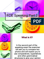 FCE Speaking Part 2 Presentation