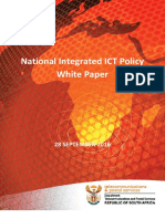 The National Integrated ICT Policy White Paper - 03 October 2016 Final