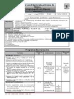 Plan y Programa de Eval Quimica IV a-i,II 2' p 2016-2017