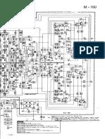 Gradiente - Amplificador - M160 - Esquema Eletrônico