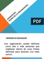 Teoría de La Organización 08.07.16