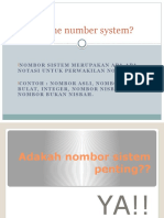 What is the Number System(1)