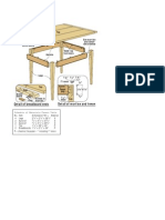 Woodworking plans - Tavern Table