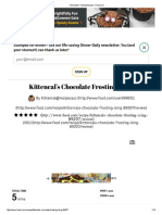 Chocolate Frosting Recipe - Food