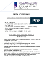 Brake Department