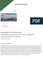 Summer Sustainability