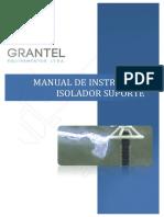 MIM10-RA - Manual Isoladores Suporte