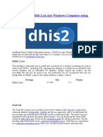 How to Install DHIS