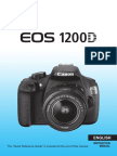 EOS 1200D Instruction Manual En