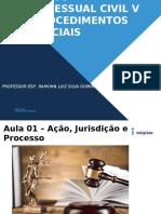 Aula 01 Direito Processual Civil v _ Procedimentos Especiais - Acao Jurisdicao e Processo