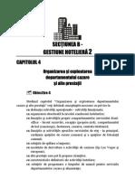 organizarea si exploatarea departamentelor operationale