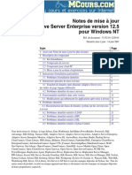 Adaptive Serve Enterprise Version 12.5 Pour Windows NT