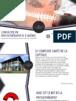 Physiothérapeutes à Québec | Complexe Santé de la Capitale