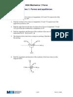 Forces & Equilibrium Exercise.pdf
