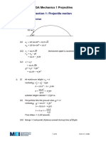 Projectile Motion - Solutions.pdf