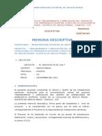 Memeria Descriptiva Sanitaria - Coed 2