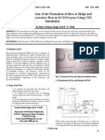 Design Optimization of the Formation of Boss or Ridge and Passivation of Electrolyte Flow in ECM Process Using CFD Simulation 05 July