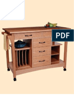 Woodworking plans - Kitchen Workstation