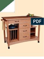 Woodworking plans - Kitchen Workstation