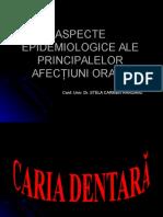 Epidemiologie Afectiuni Orale