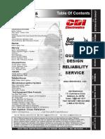 CDI Marine Electronics Catalog