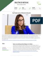 Boletín de noticias KLR 04OCT2016